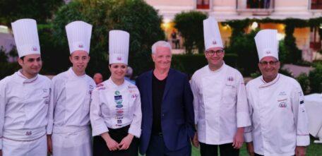 Nel giardino dell'Hotel Ducale la tredicesima Giornata Internazionale delle Cucine Italiane.